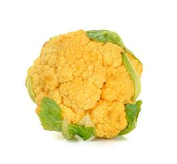 cauliflower isolated on the white background