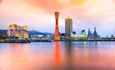 Kobe skyline, Japan.