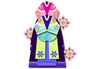 Korean Ornaments Tranditional Icon