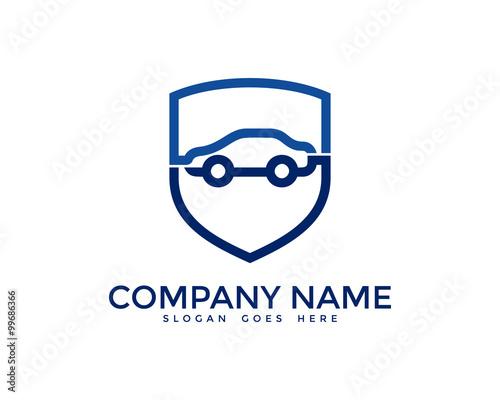 "insurance logo template  Automotive Car Insurance Logo Design Template"" Stock image and ..."