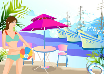 휴가, 휴식, 휴양지