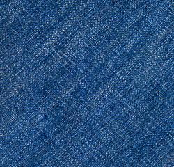 Blue jeans. Texture