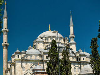 The Fatih Mosque (Conqueror's Mosque) in Istanbul