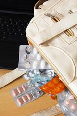 Medicines in Handbag