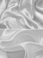 Texture white satin, silk background