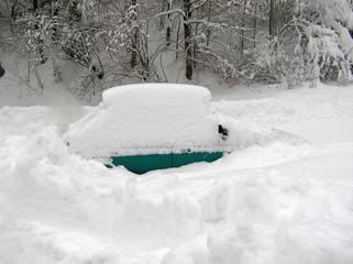 auto and snow