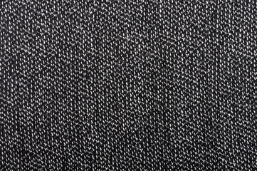 piece of black and white fabric as background