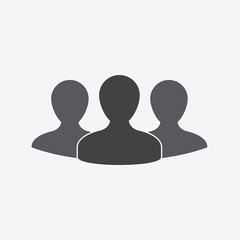 team icon on grey