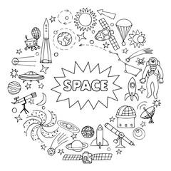 Doodle space elements