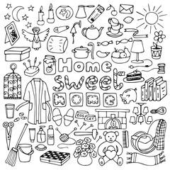 Hand drawn Home set