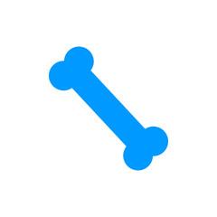 bone icon. Flat design style.