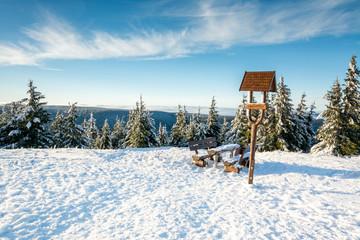 Fototapete - Thüringer Wald - Schneekopf