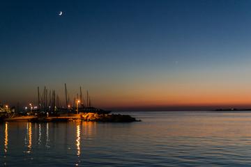 Sunset in Paros island - Greece