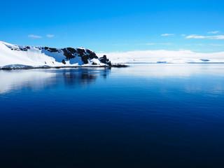 Antarctica iceberg mountain landscape