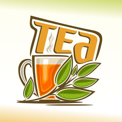 Vector illustration on the theme of tea