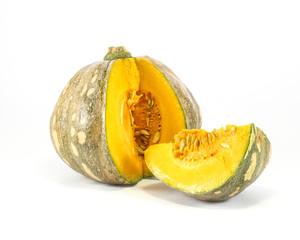 Yellow green Pumpkin Slice