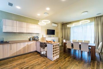 Modern kitchen interior Modern kitchen interior