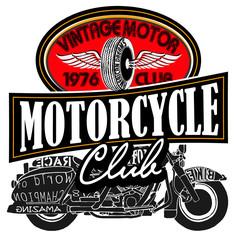 Vintage Motor Club Signs