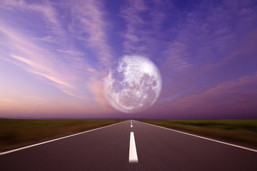 Wall Mural - Road to the sun.