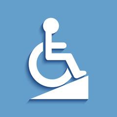 Logo rampe d'accès.