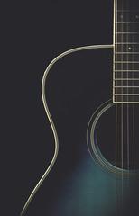 Matte guitar