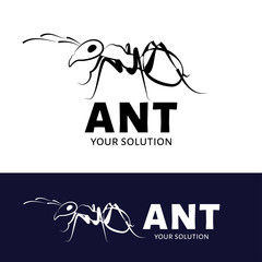 Ant vector logo.