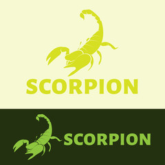 Vector Scorpion logo.
