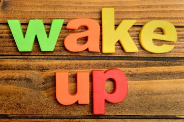 Wake up word