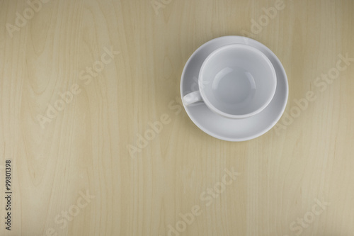 Empty Cup Top : Quot empty coffee cup on office table top view imagens e