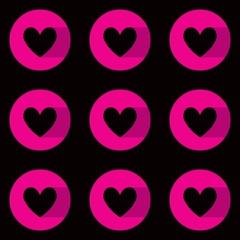 Love Seamless pattern vector template