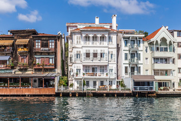 Houses Along the Bosphorus