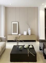 Elegant house interiors,TV wall