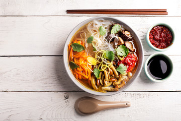 Traditional chinese soup
