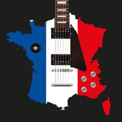 Guitare électrique - France