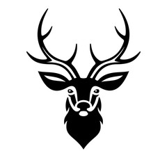 Deer Head. Vector