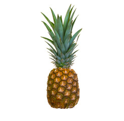Valuable isolated pineapple