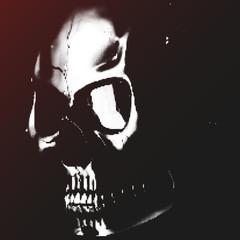 Skull vector halftone user pic