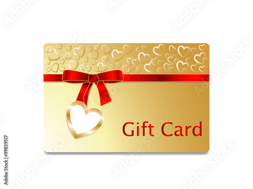 Gift coupon gift card discount card business card with golden gift coupon gift card discount card business card with golden heart pattern colourmoves