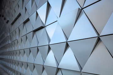 Abstract architectural detail Wall mural