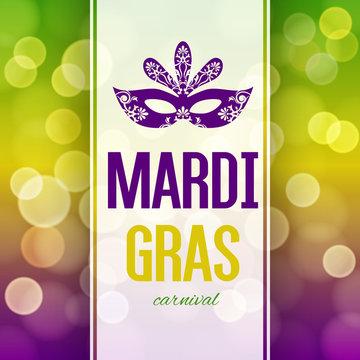 Mardi Gras carnival background