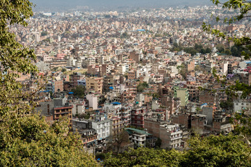 View of Kathmandu Cityscape