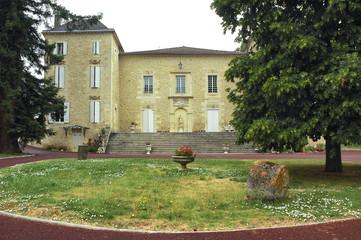 Rauzan (Bordeaux, France): castle