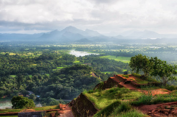 View from Sigiriya Lion Rock