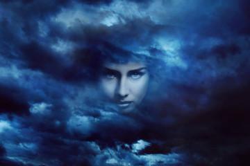 Storm goddess face