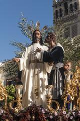 Hermandad del Beso de Judas, semana santa en Sevilla