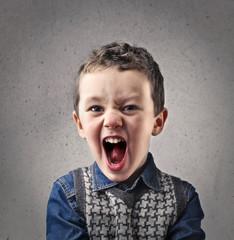 Shouting child