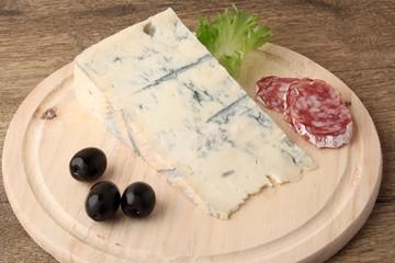 blue cheese salami