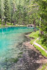 Ghedina lake, Cortina D'Ampezzo, Dolomites