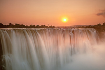 Victoria falls and the batik Gorge