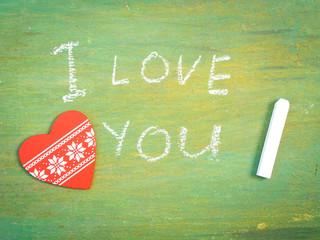 Lettering  I love you